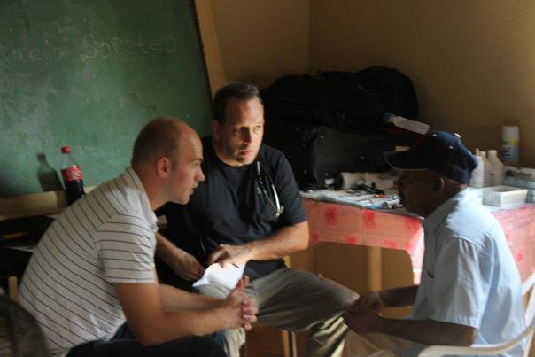 Here's Me Translating for a Doctor in a 2-day Clinic