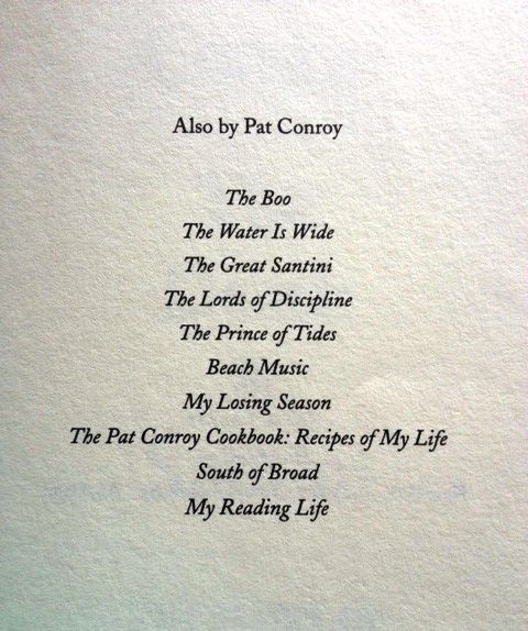 pat conroy lords of discipline